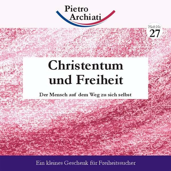 Christentum und Freiheit - Coverbild