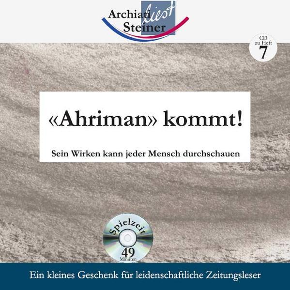 «Ahriman» kommt! - Coverbild