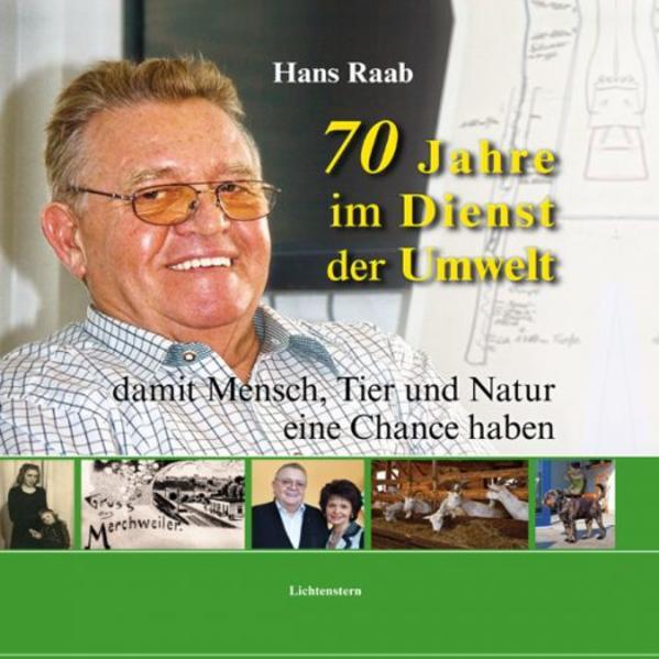 70 Jahre im Dienst der Umwelt - Coverbild