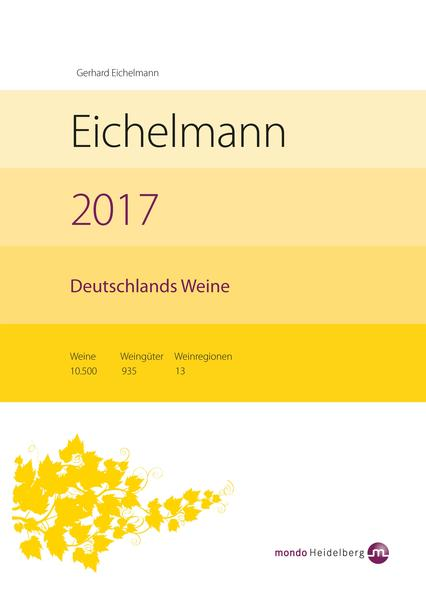 Eichelmann 2017 Deutschlands Weine - Coverbild
