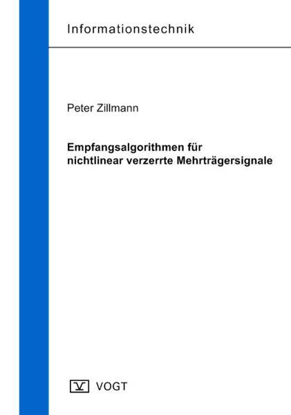 Empfangsalgorithmen für nichtlinear verzerrte Mehrträgersignale - Coverbild