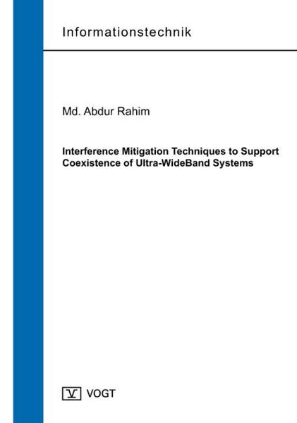 Interference Mitigation Techniques to Support Coexistence of Ultra-WideBand Systems - Coverbild