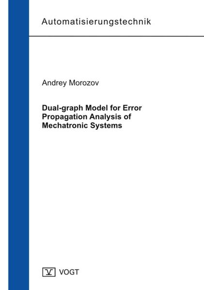 Dual-graph Model for Error Propagation Analysis of Mechatronic Systems - Coverbild