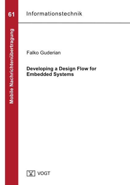 Developing a Design Flow for Embedded Systems - Coverbild