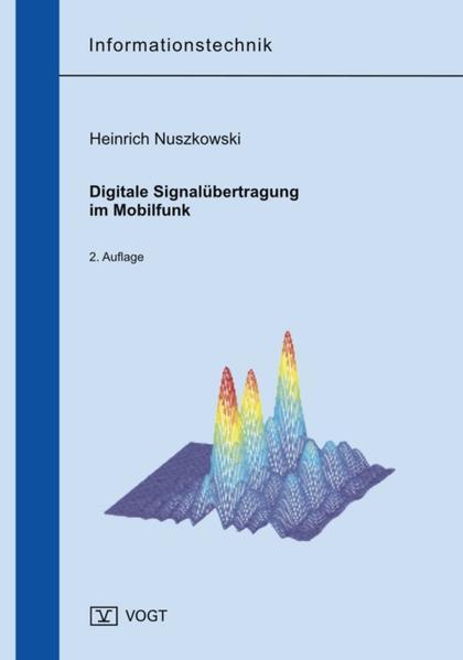 Digitale Signalübertragung im Mobilfunk - Coverbild