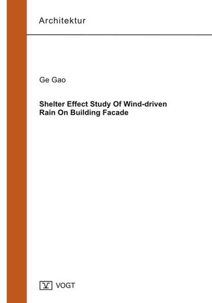 Shelter Effect Study Of Wind-driven Rain On Building Facade - Coverbild