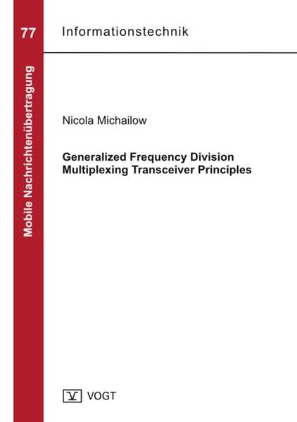 Generalized Frequency Division Multiplexing Transceiver Principles - Coverbild