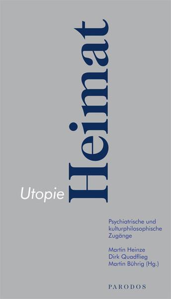 Utopie Heimat - Coverbild