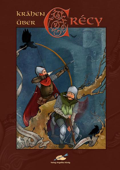 Krähen über Crécy - Coverbild