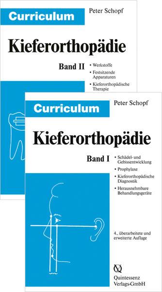 Curriculum Kieferorthopädie (Band 1+2) / Curriculum Kieferorthopädie Band 1+2 - Coverbild
