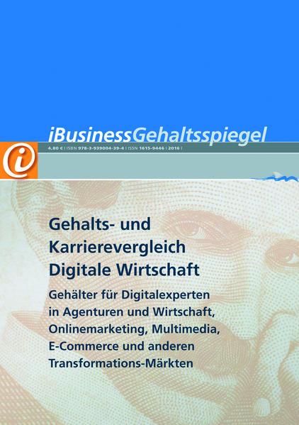 Gehalts- und Karrierevergleich Digitale Wirtschaft 2010 - Coverbild