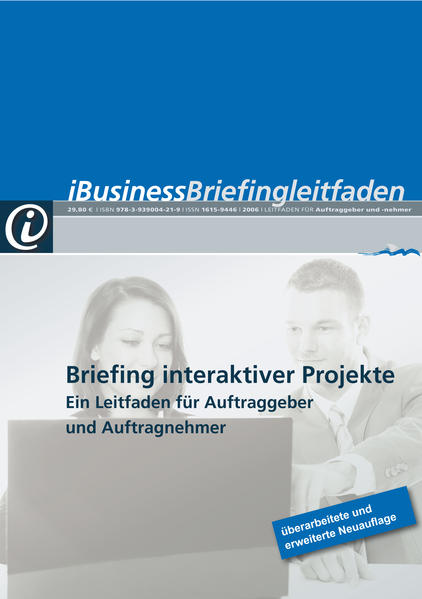 iBusiness Briefingleitfaden 2011 - Coverbild