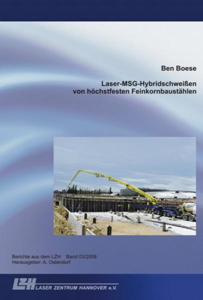 Laser-MSG-Hybridschweißen von höchstfesten Feinkornbaustählen - Coverbild