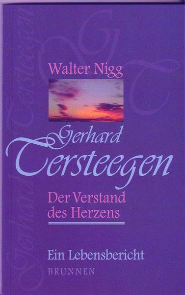 Gerhard Tersteegen – Der Verstand des Herzens - Coverbild