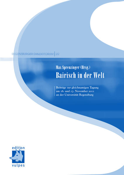 Bairisch in der Welt - Coverbild