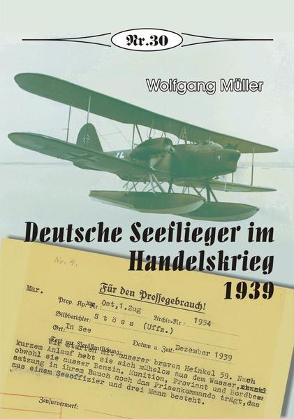 Deutsche Seeflieger im Handelskrieg 1939 - Coverbild