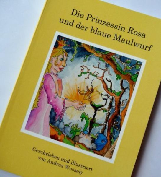 Die Prinzessin Rosa und der blaue Maulwurf - Coverbild