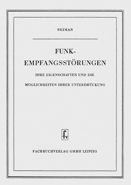 Funk-Empfangsstörungen - Coverbild