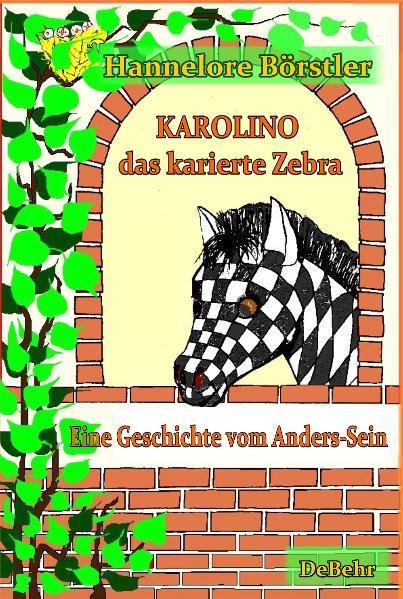 Karolino, das karierte Zebra - Eine Geschichte vom Anders-Sein - Coverbild