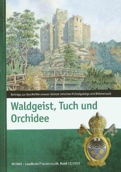 Waldgeist, Tuch und Orchidee - Coverbild