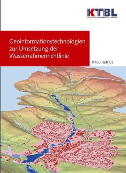 Geoinformationstechnologien zur Umsetzung der Wasserrahmenrichtlinie - Coverbild
