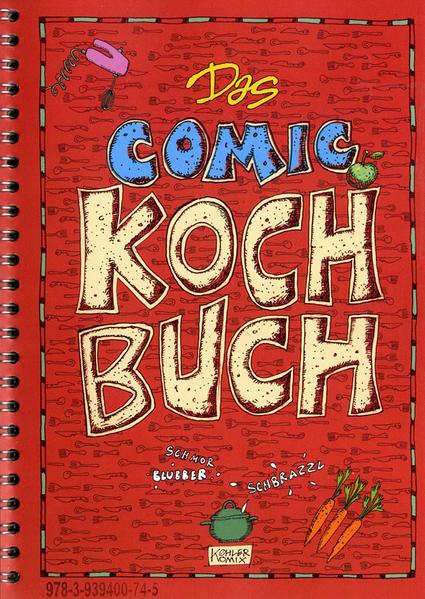 Das Comic Kochbuch - Coverbild