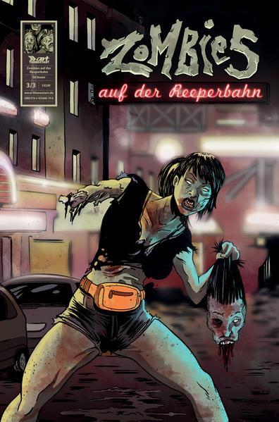 Zombies auf der Reeperbahn - Coverbild