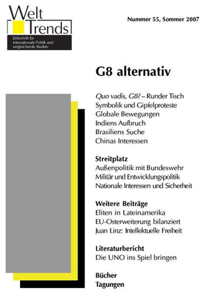 G8 alternativ - Coverbild