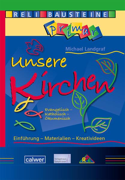 ReliBausteine primar 2: Unsere Kirchen - Coverbild