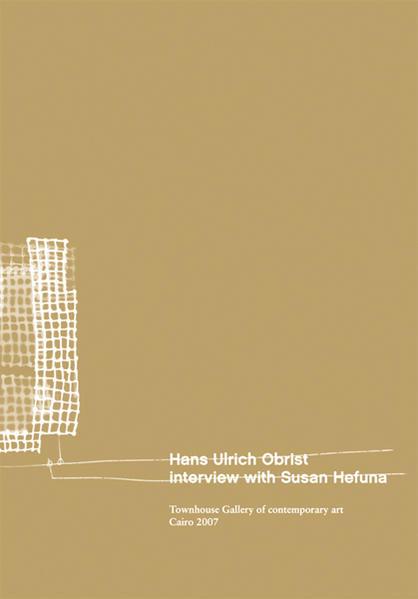 Hans Ulrich Obrist - Coverbild