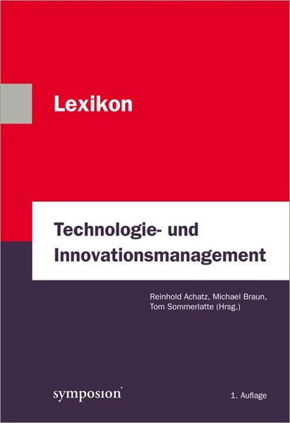 Lexikon Technologie- und Innovationsmanagement - Coverbild