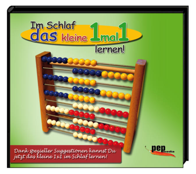 Im Schlaf das kleine 1mal1 lernen! - Coverbild