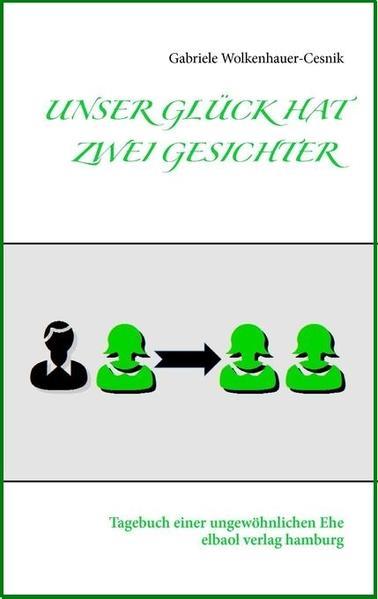 UNSER GLÜCK HAT ZWEI GESICHTER - Coverbild