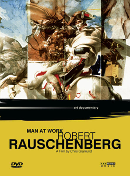 Man at Work - Robert Rauschenberg - Coverbild