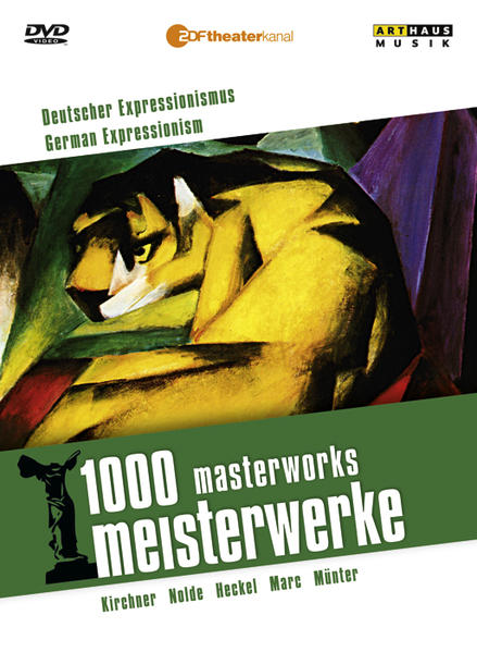 1000 Meisterwerke: Expressionismus in Deutschland - Coverbild