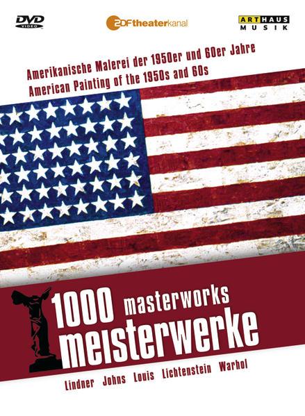 1000 Meisterwerke: Amerikanische  Malerei der 1950er und 60er Jahre - Coverbild