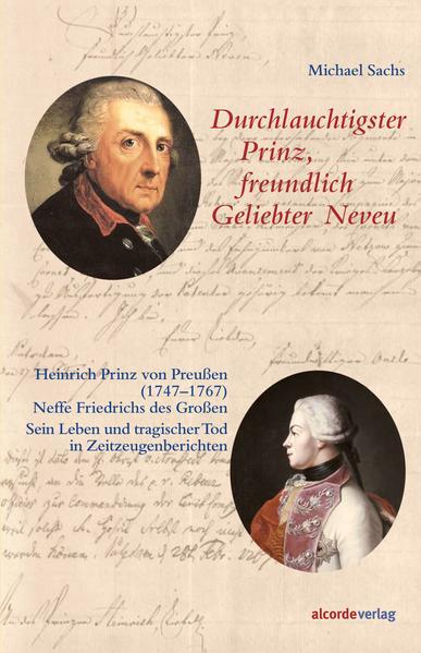 Durchlauchtigster Prinz, freundlich Geliebter Neveu - Coverbild