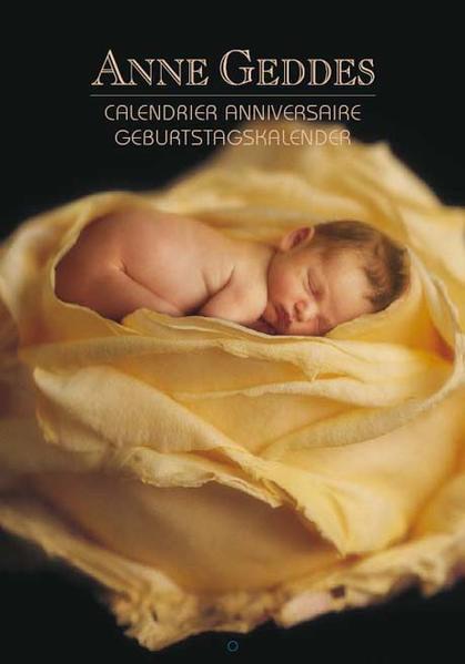 ANNE GEDDES Geburtstagskalender Flowers - Coverbild