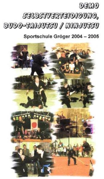 Demo Selbstverteidigung, Budo-Taijutsu / Ninjutsu - Coverbild