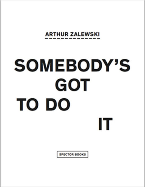 Somebody's got to do it - Coverbild