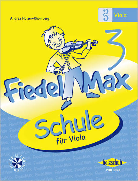 Fiedel-Max  für Viola - Schule, Band 3 - Coverbild