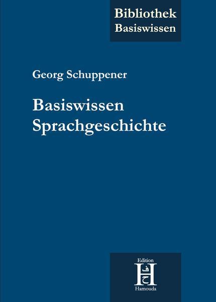 Basiswissen Sprachgeschichte - Coverbild