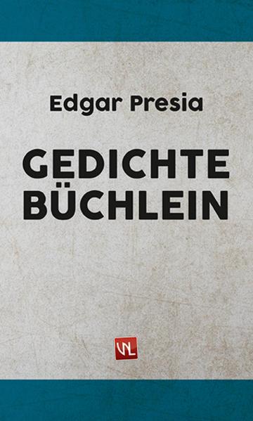 Gedichte-Büchlein - Coverbild