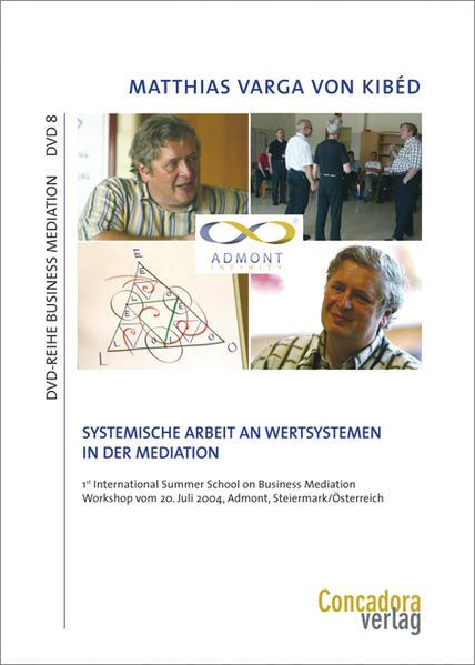 Systemische Arbeit an Wertsystemen in der Mediation - Coverbild