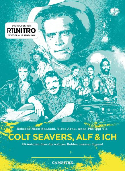 Colt Seavers, Alf & Ich - Coverbild