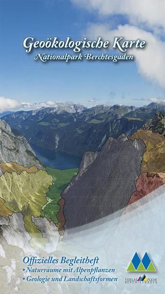 Geoökologische Karte Nationalpark Berchtesgaden - Coverbild