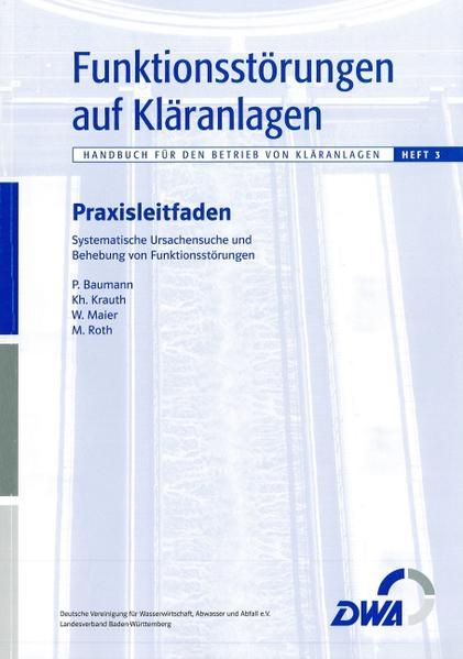 Funktionsstörungen auf Kläranlagen - Coverbild