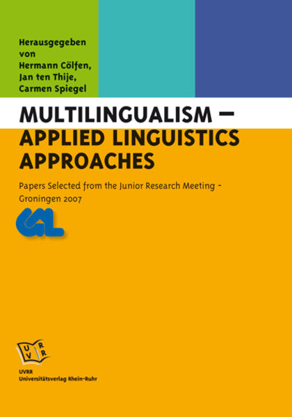 Multilingualism – Applied Linguistics Approaches - Coverbild