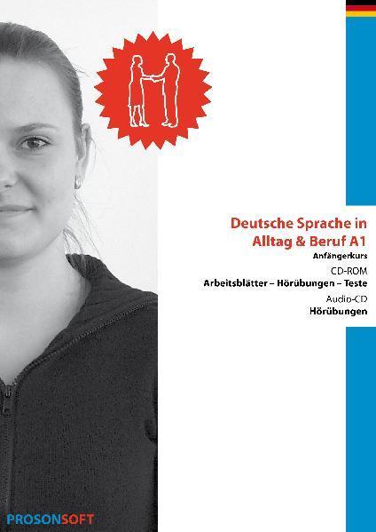 Deutsche Sprache in Alltag  Beruf A1 (Anfänger) - Coverbild
