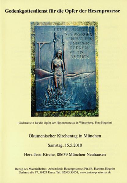 Gottesdienst für die Opfer der Hexenprozesse - Coverbild